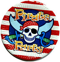 """Тарелка 18см """"Пираты, пиратская вечеринка"""""""