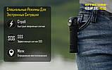 Ліхтар налобний Nitecore HC30 (Cree XM-L 2 U2, 1000 люмен, 8 режимів, 1x18650), фото 5