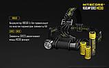 Ліхтар налобний Nitecore HC30 (Cree XM-L 2 U2, 1000 люмен, 8 режимів, 1x18650), фото 6