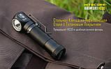 Ліхтар налобний Nitecore HC30 (Cree XM-L 2 U2, 1000 люмен, 8 режимів, 1x18650), фото 7