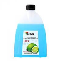 Зимний омыватель (концентрат), аромат Лайма - BIZOL WINTER SCREEN WASH -80C, 1Л