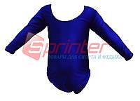 Купальник для художественной гимнастики. М (30-32) 2014 (синий)