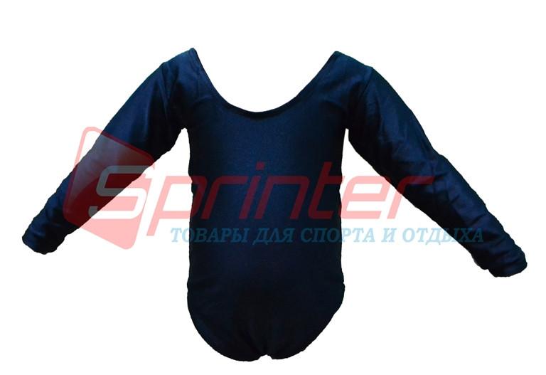 Купальник гимнастический темно-синий. ХL (38-40) 2014