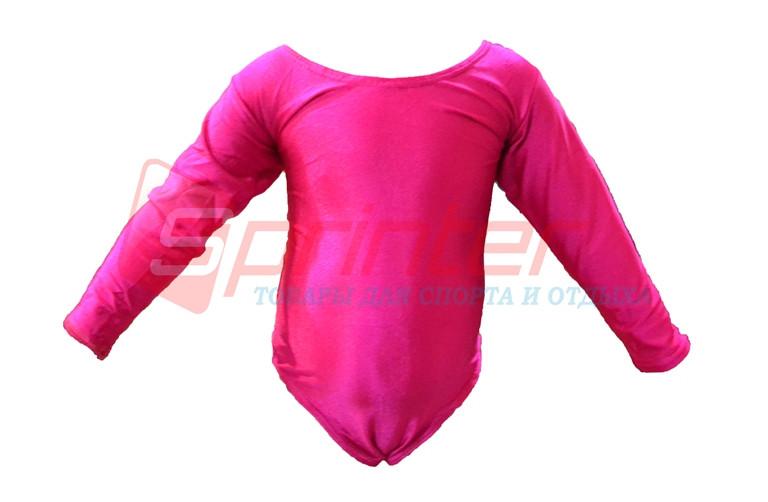Купальник гимнастический розовый.S (26-28). 2014