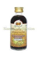 Микстура от кашля на основе экстракт индийского крыжовника Compound Makham Pom Cough Mixture