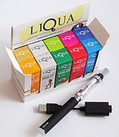 Набор для курения ― электронная сигарета  EGO-CE6 + жидкость  LIQUA 
