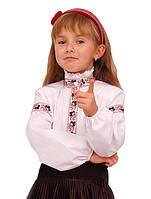 Блузки для девочек белые и цветные