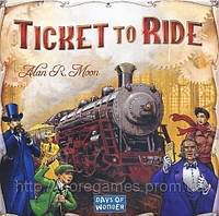Настольная игра Билет На Поезд. Ticket to Ride. Zug um Zug