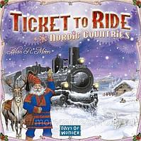 Настольная игра Билет На Поезд: Северные страны. Ticket to Ride: Nordic Countries