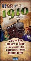Настольная игра Билет На Поезд: США 1910 (Дополнение). Ticket to Ride: USA 1910