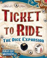 Настольная игра Билет На Поезд: Игра На Кубиках. Ticket to Ride: The Dice Expansion