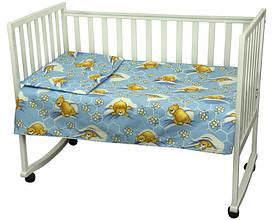Комплект постільної білизни для дитячого ліжечка Немовля