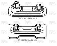 Крепеж бампера передний левый =правый 165 807 193В (см. рис.) Фольксваген Гольф 3 / Golf 3 (91-97)