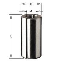 Втулка переходная разрезная D 10 мм x 6 мм, L = 25 мм,  (WPW, Израиль)