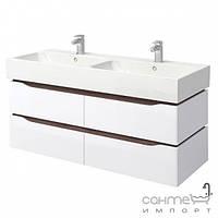 Мебель для ванных комнат и зеркала Аква Родос Подвесная тумба с умывальником Аква Родос Венеция 120 см (T Vn 120)