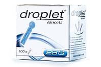 Ланцет (скарификатор) медицинский стерильный Дроплет 100шт.