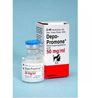 Депо-промон(Depo-Promone) 5 мл - компромисс вместо стерилизации самок собак и кошек