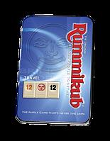 Настольная игра Руммикуб в дорогу. Rummikub Travel(мет.каробка)