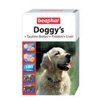 Beaphar  Doggy's Mix 180таб- витамины для  собак для собак с таурином, биотином, протеином и печенью (12568)