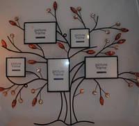 Фотоколлаж на 5 фото Родовое Дерево