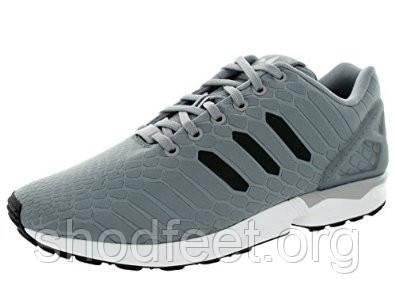 new styles 06455 6ad5a Мужские кроссовки Adidas ZX Flux Xeno Silver