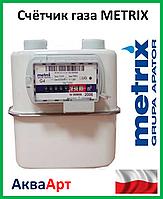 "Газовый счётчик мембранного типа ""МЕТРИКС"" G-4Т(с терморегулятором)"