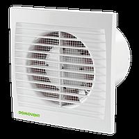 Бытовой вентилятор Домвент с таймером выключения 100 СТ