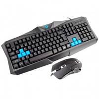 Клавиатура + Мышка Gemix комплект KBM-180 USB Black