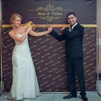 Эконом Бренд волл (Brand Wall) 2x2м