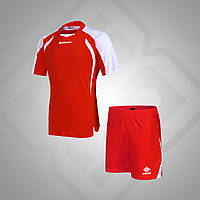 Комплект футбольной формы BestTeam SC-13013 (красный/белый)