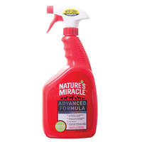 Natures Miracle Advanced Formula Stain & Odor-Устранитель пятен и запаха универ с усиленной формулой 947мл