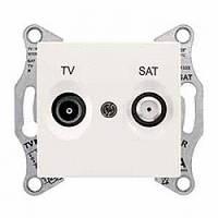 Розетка Schneider-Electric Sedna TV/SAT концевая (1дб) слоновая кость ( SDN3401623 )