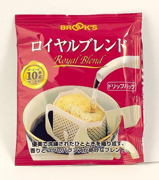Японський мелену каву в порційному пакетику «Royal Blend»