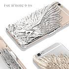 Чехол накладка для iPhone 6/6s Luxury Rose Angel Wings, фото 2
