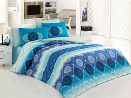 Комплект постельного белья двуспальный евро Oryantal Majoli B08