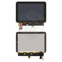Дисплейный модуль (дисплей + сенсор) для Nook HD+ 9 (тип 2), черный, оригинал