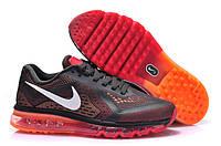 "Кроссовки Nike Air Max 2014 ""Black with Orange\Red Overflow"""