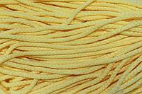 Шнур акрил 6мм.(100м) желтый