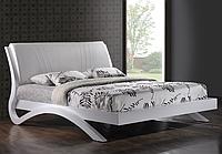 """Кровать 1,6 """"Эвита"""" (белый глянец) код 32843"""