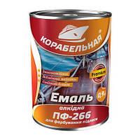 ЭмальТМ Корабельная ПФ-266 2,8 кг желто-коричневая Polycolor