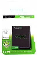 АКБ (аккумулятор) Grand Premium BL8004 для Fly IQ4503 Era Life 6 (3.7V 2000 mAh)