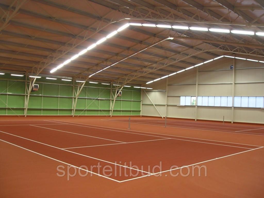Теннисные корты с акриловым покрытием хард  Courtsol Comfort