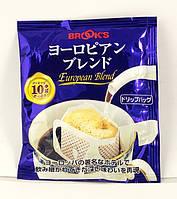 Японский молотый кофе в порционном пакетике «European Blend»