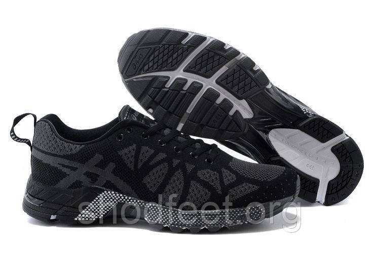 Мужские кроссовки Asics Flyknit Gel-Noosa tr19 Black