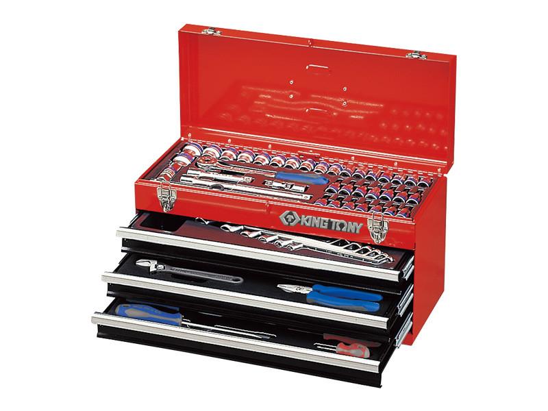 Набор инструментов в ящике 69 ед. KINGTONY