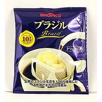 Японский молотый кофе в порционном пакетике «Brazil», фото 1