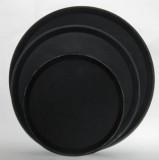 Поднос официанта нескользящий 280 мм черный
