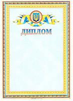 Диплом наградной универсальный бланк А4 №40