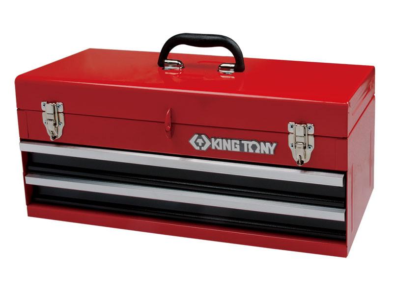 Ящик  для инструмента 2 выдвижные полки KINGTONY