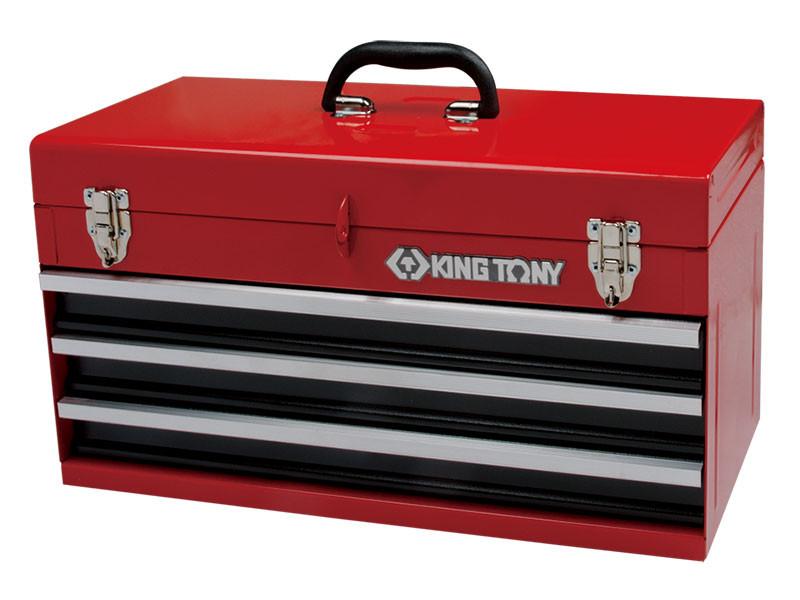 Ящик  для инструмента 3 выдвижные полки KINGTONY